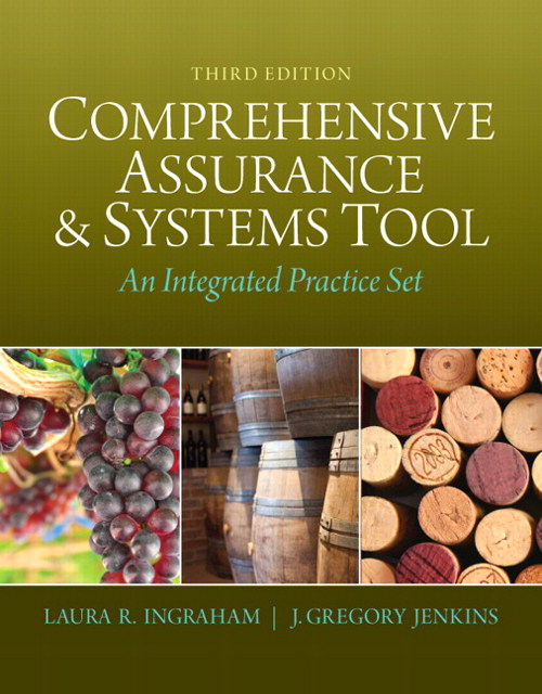 Comprehensive Assurance & Systems Tool (CAST): An Integrated Practice Set, CourseSmart eTextbook, 3rd Edition