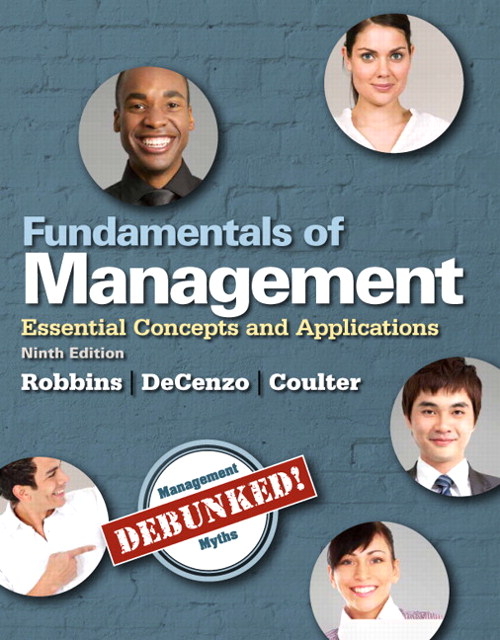 Fundamentals of Management: Essential Concepts and Applications, Student Value Edition, 9th Edition