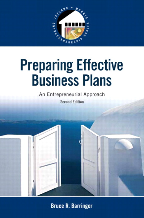 Preparing Effective Business Plans: An Entrepreneurial Approach, 2nd Edition