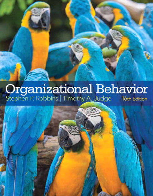 Organizational Behavior, CourseSmart eTextbook, 16th Edition