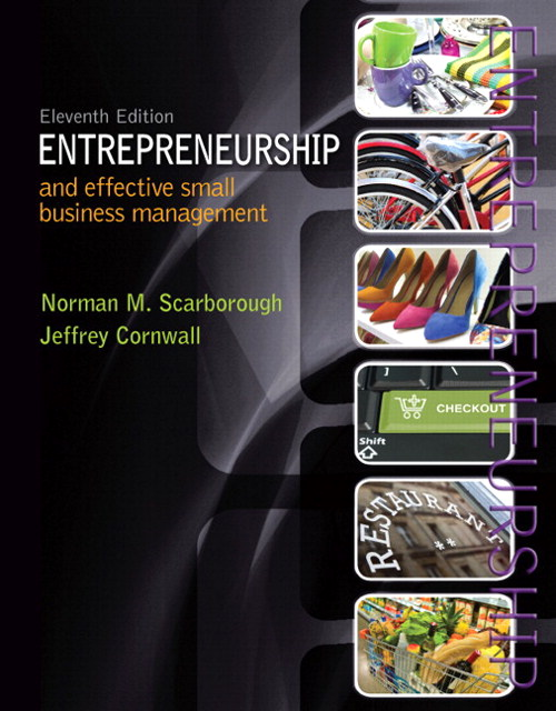 Entrepreneurship and Effective Small Business Managementt, CourseSmart eTextbook, 11th Edition