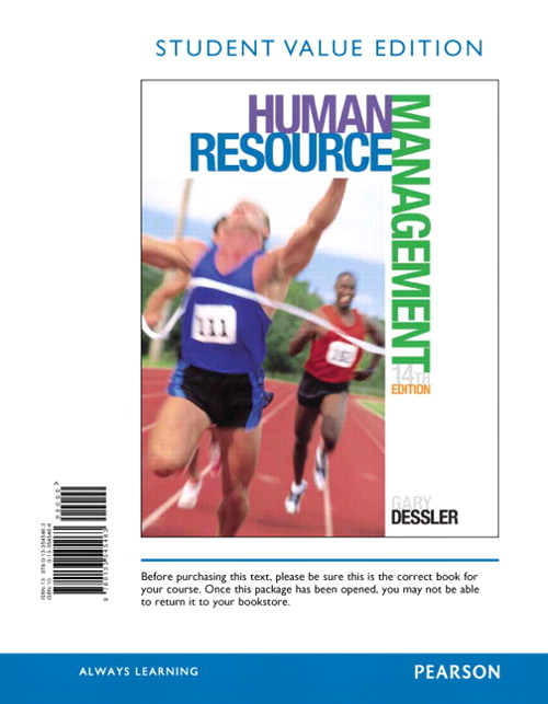 Human Resource Management, Student Value Edition, 14th Edition