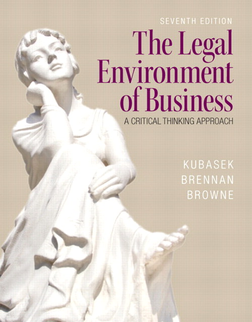 Legal Environment of Business, The, CourseSmart eTextbook, 7th Edition