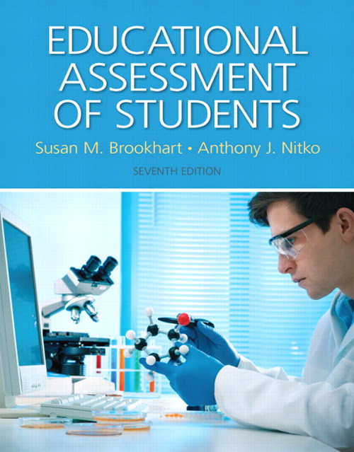 Educational Assessment of Students, CourseSmart eTextbook, 7th Edition