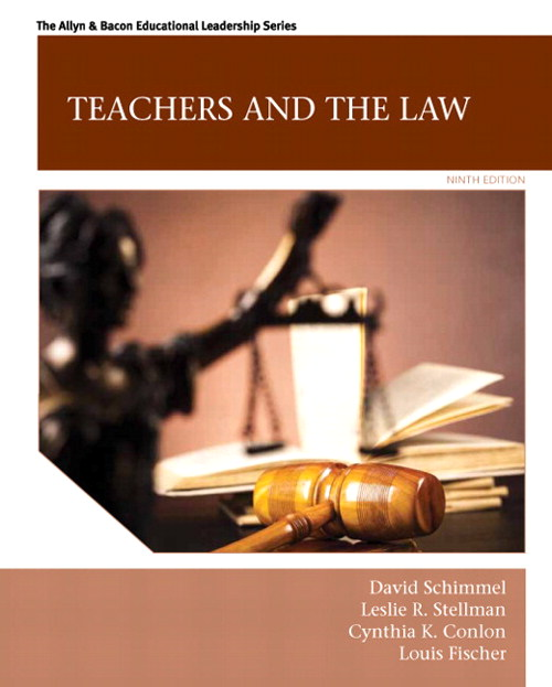Teachers and the Law, CourseSmart eTextbook, 9th Edition