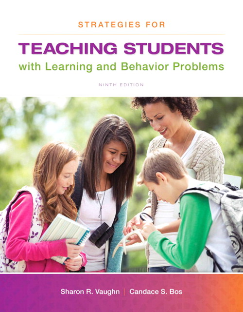 Strategies for Teaching Students with Learning and Behavior Problems, CourseSmart eTextbook, 9th Edition