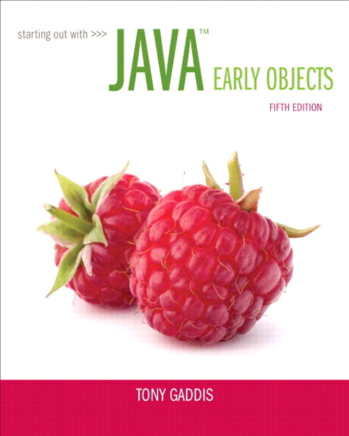 Starting Out with Java: Early Objects plus MyProgrammingLab with Pearson eText -- Access Card Package, 5th Edition