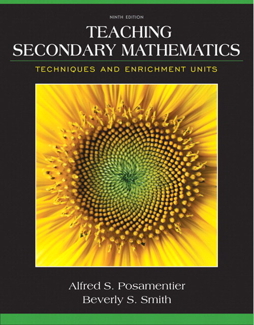 Teaching Secondary Mathematics: Techniques and Enrichment Units, CourseSmart eTextbook, 9th Edition