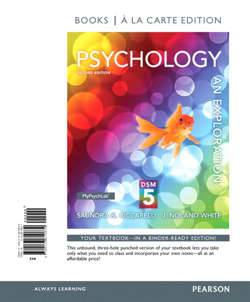 Psychology: An Exploration with DSM5 Update, Books a la Carte Edition, 2nd Edition
