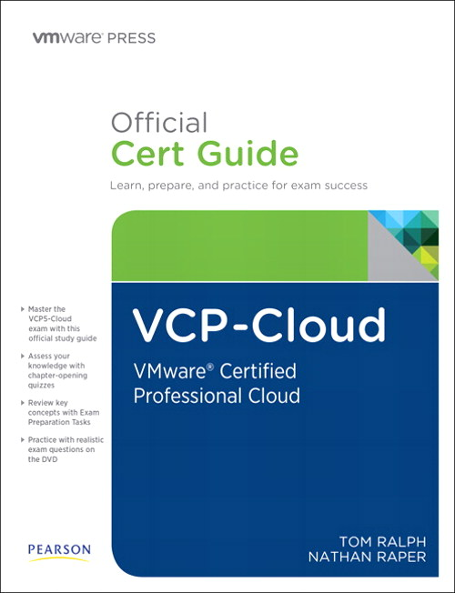 VCP-Cloud Official Cert Guide (with DVD): VMware Certified Professional - Cloud, CourseSmart eTextbook