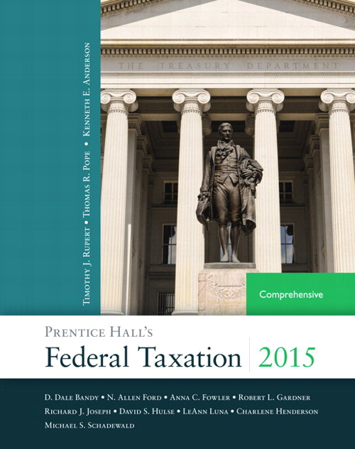 Prentice Hall's Federal Taxation 2015 Comprehensive Plus NEW MyAccountingLab with Pearson eText -- Access Card Package, 28th Edition