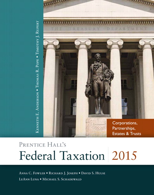 Prentice Hall's Federal Taxation 2015 Corporations, Partnerships, Estates & Trusts Plus NEW MyAccountingLab with Pearson eText -- Access Card Package, 28th Edition