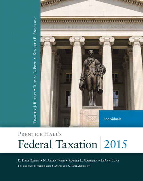 Prentice Hall's Federal Taxation 2015 Individuals Plus NEW MyAccountingLab with Pearson eText -- Access Card Package, 28th Edition