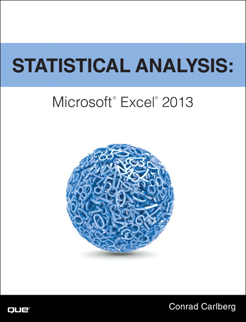 Statistical Analysis: Microsoft Excel 2013, CourseSmart eTextbook