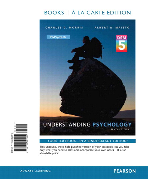 Understanding Psychology with DSM5 Update, Books a la Carte Edition Plus MyLab Psychology  with Pearson eText, 10th Edition