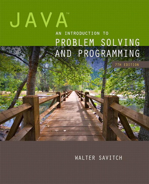 Java: An Introduction to Problem Solving and Programming plus MyProgrammingLab with Pearson eText -- Access Card Package, 7th Edition