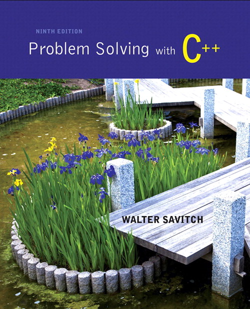 Problem Solving with C++ plus MyProgrammingLab with Pearson eText-- Access Card Package, 9th Edition