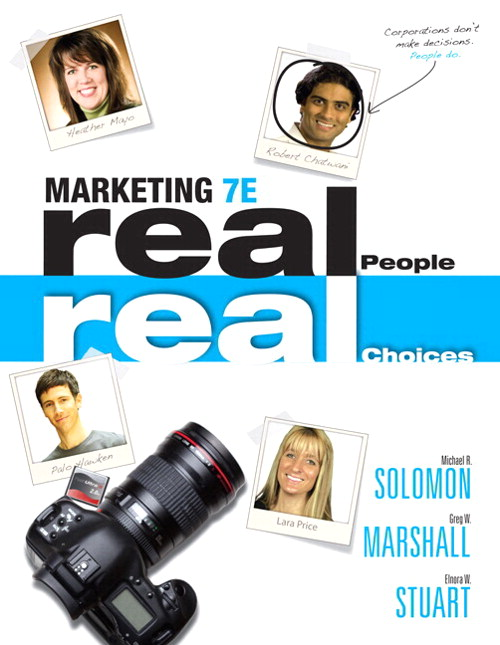 Marketing: Real People, Real Choices Plus 2014 MyMarketingLab with Pearson eText -- Access Card Package, 7th Edition