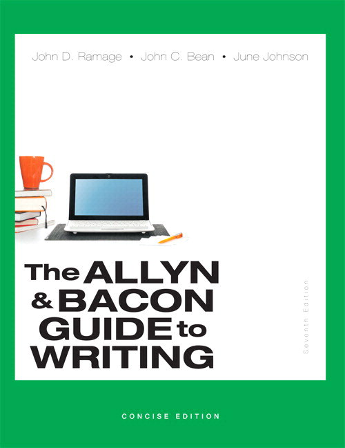 The Allyn & Bacon Guide to Writing, Concise Edition PLUS MyWritingLab -- Access Card Package, 7th Edition