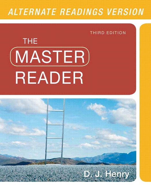 Master Reader,The,  Alternate Edition Plus MyReadingLab with eText -- Access Card Package, 3rd Edition