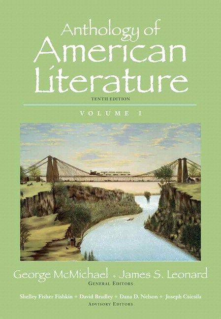 Anthology of American Literature, Volume 1 Plus MyLiteratureLab --Access Card Package, 10th Edition