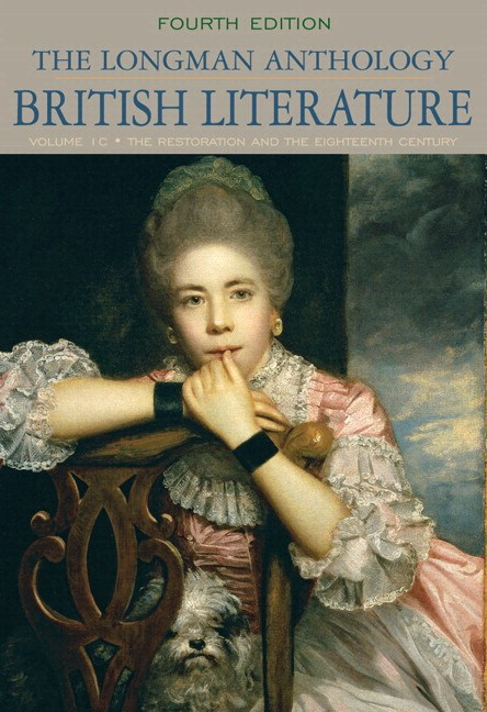 Longman Anthology of British Literature,The,  Volume 1C: Restoration and the Eighteenth Century Plus MyLiteratureLab --Access Card Package, 4th Edition