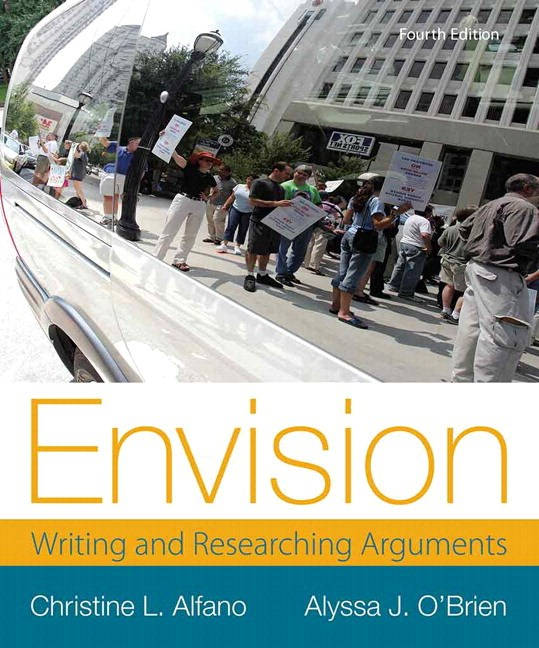 Envision: Writing and Researching Arguments Plus MyWritingLab with eText -- Access Card Package, 4th Edition