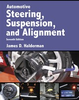 Automotive Steering, Suspension & Alignments (Subscription), 7th Edition