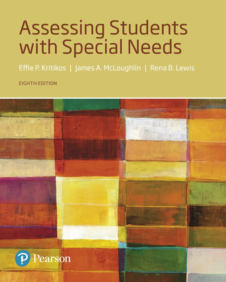 Assessing Students with Special Needs, with Enhanced Pearson eText -- Access Card Package, 8th Edition