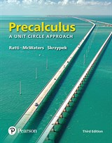 Precalculus: A Unit Circle Approach, 3rd Edition