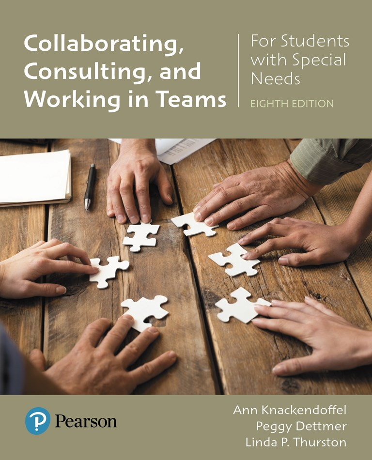 Collaborating, Consulting and Working in Teams for Students with Special Needs with Enhanced Pearson eText -- Access Card Package, 8th Edition