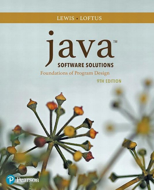 Java Software Solutions Plus MyLab Programming with Pearson eText -- Access Card Package, 9th Edition