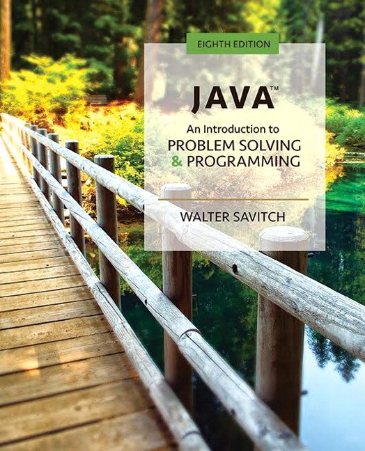 Java: An Introduction to Problem Solving and Programming Plus MyLab Programming with Pearson eText -- Access Card Package, 8th Edition