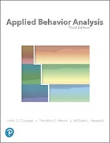 Applied Behavior Analysis, 3rd Edition