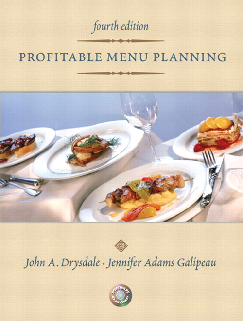 Profitable Menu Planning, CourseSmart eTextbook, 4th Edition