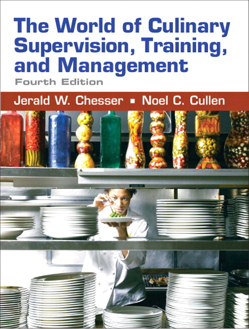 World of Culinary Supervision, CourseSmart eTextbook, 4th Edition