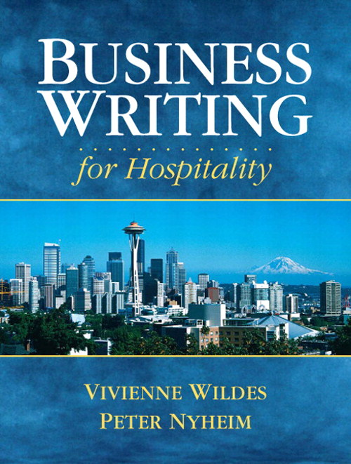 Business Writing for Hospitality, CourseSmart eTextbook