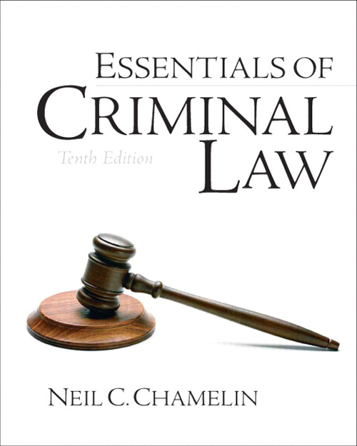 Essentials of Criminal Law, CourseSmart eTextbook, 10th Edition