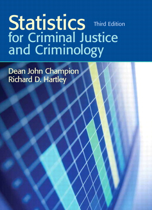Statistics for Criminal Justice and Criminology, CourseSmart eTextbook, 3rd Edition
