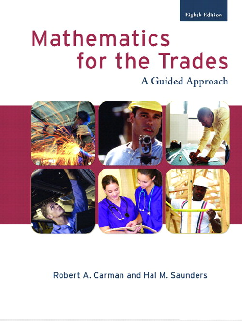 Mathematics for the Trades, CourseSmart eTextbook, 8th Edition