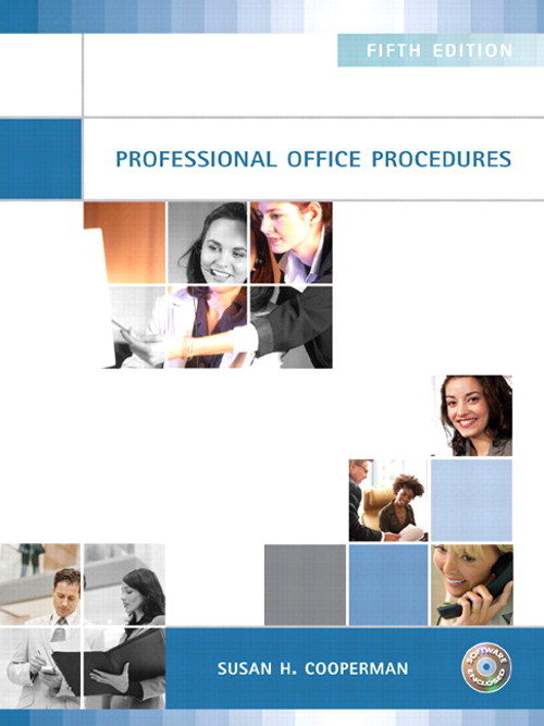 Professional Office Procedures, CourseSmart eTextbook, 5th Edition