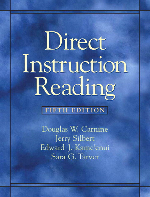 Direct Instruction Reading, CourseSmart eTextbook, 5th Edition