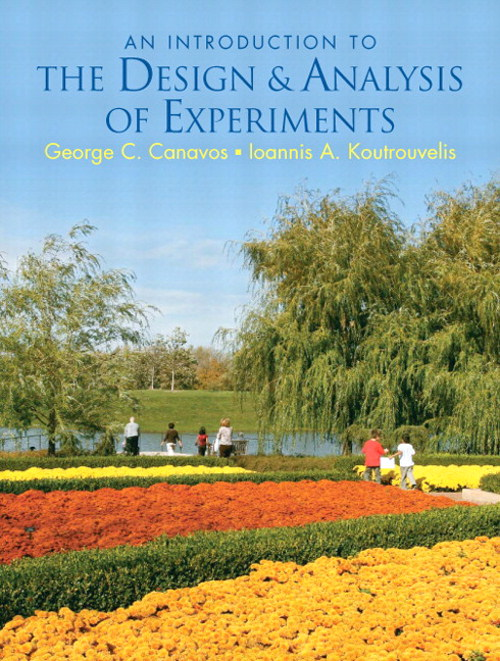 Introduction to the Design & Analysis of Experiments, CourseSmart eTextbook