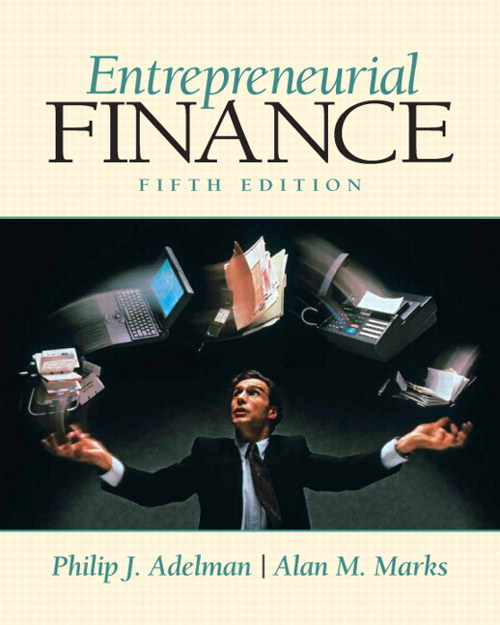 Entrepreneurial Finance, CourseSmart eTextbook, 5th Edition