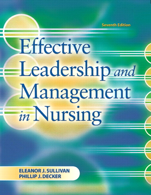 Effective Leadership and Management in Nursing, CourseSmart eTextbook, 7th Edition