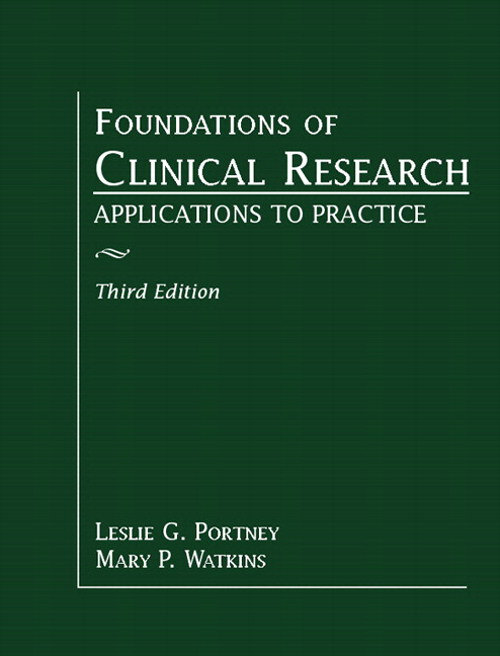 Foundations of Clinical Research: Applications to Practice, CourseSmart eTextbook, 3rd Edition