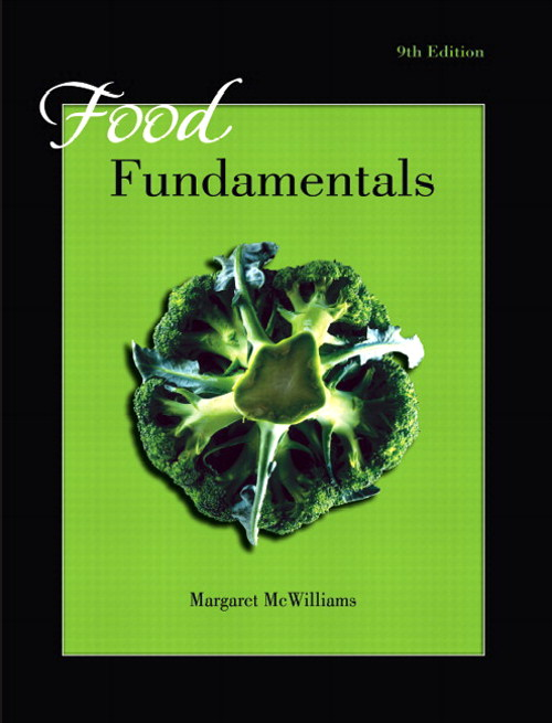 Food Fundamentals, CourseSmart eTextBook, 9th Edition