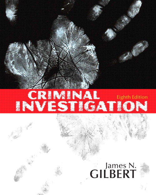 Criminal Investigation, CourseSmart eTextbook, 8th Edition