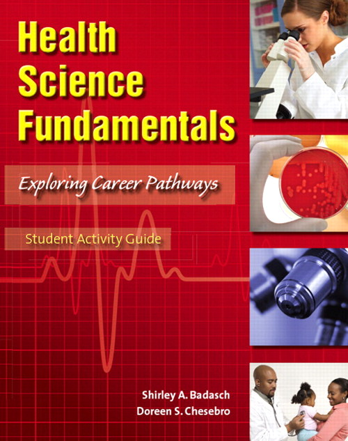 Cover image for Student Activity Guide for Health Science Fundamentals