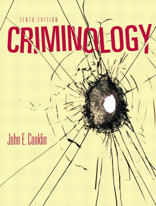 Criminology, CourseSmart eTextbook, 10th Edition